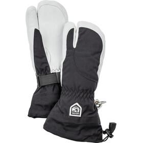 Hestra Heli Ski 3 Finger Gloves Women Black/Offwhite